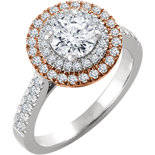 1.00ct total weight antique engagement ring